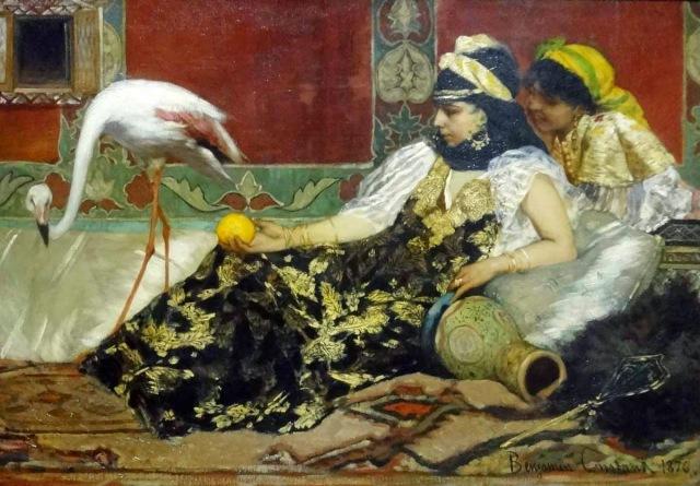 benjamin constant Le Flamant rose, 1876