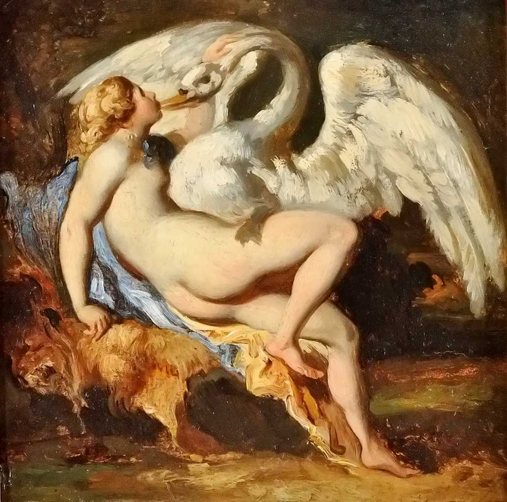 gericault leda et le cygne 1818