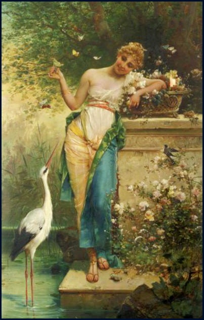 hans zatzka L'excitation (The tease)