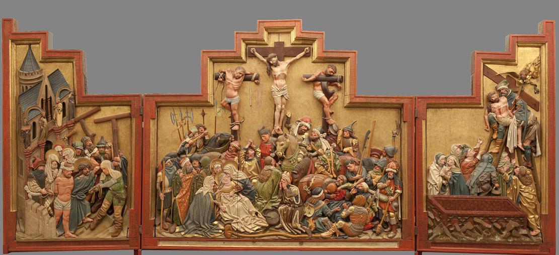 triptyque de Znaim 1440-1445 Osterreichische Galerie Belvedere