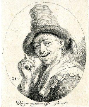 After Godfried Schalcken 1660-1680 quam meminisse juvat Bristish Museum