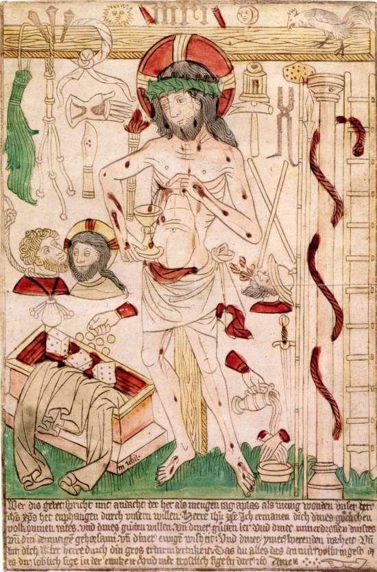 Der_Schmerzensmann_mit_den_Arma_Christi_Ulm 1470-80 Germanisches Nationalmuseum Nurnberg