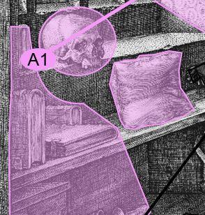 Durer 1514 Saint Jerome dans son etude grille de lecture A1