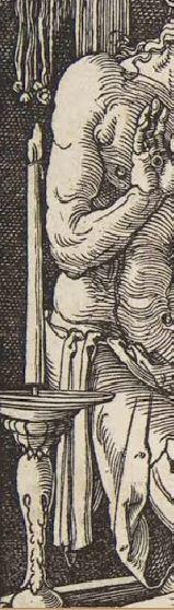 Durer Messe de St Gregoire 1511 croix