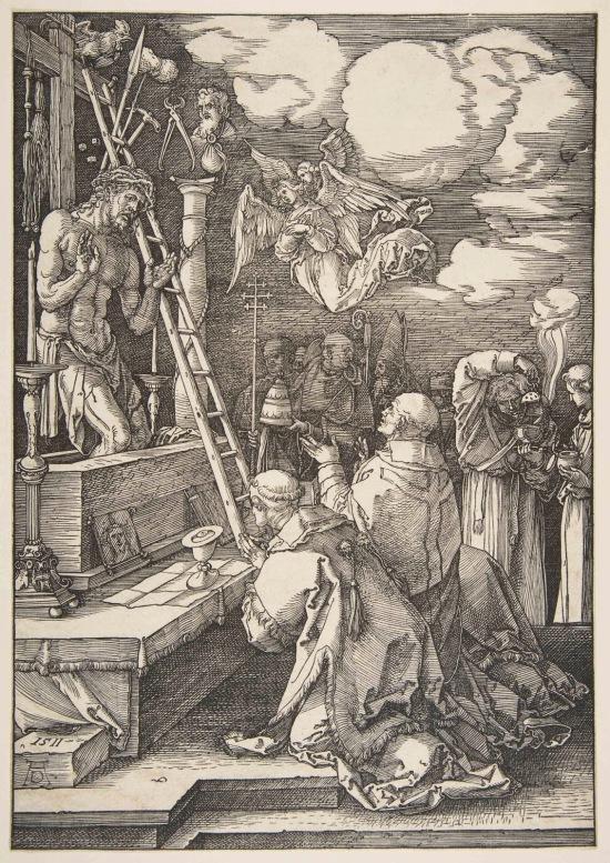 Durer Messe de St Gregoire 1511