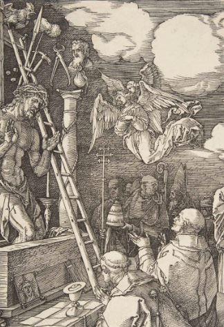 Durer Messe de St Gregoire 1511 echelle
