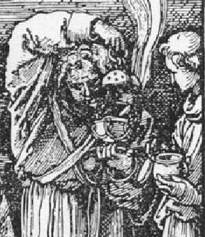 Durer Messe de St Gregoire 1511 encensoir