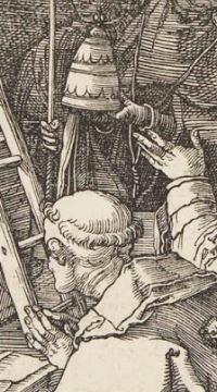 Durer Messe de St Gregoire 1511 tiare