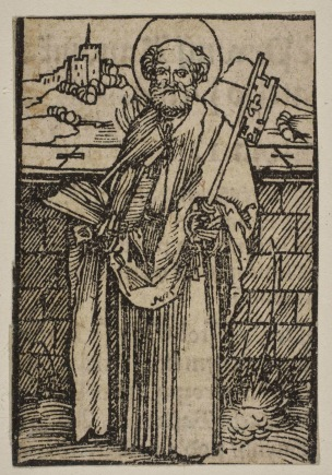 Durer St. Peter woodcut Metropolitan Museum of Art, New York