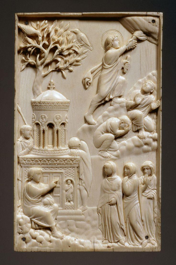 Ivoire de Munich (Reidersche Tafel ) vers 400 Bayerisches Nationalmuseum Munchen