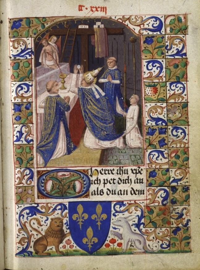 Livre de prieres du diocese de Bamberg, Wolfenbuttel, Herzog August Bibliothek, Cod. Blankenburg 296, fo. 242r