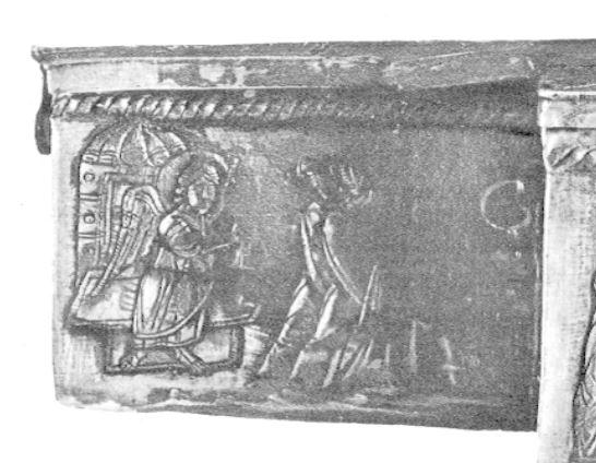 Reliquaire cruciforme Pascal I 7eme siecle Tresor du Sancta Sanctorum