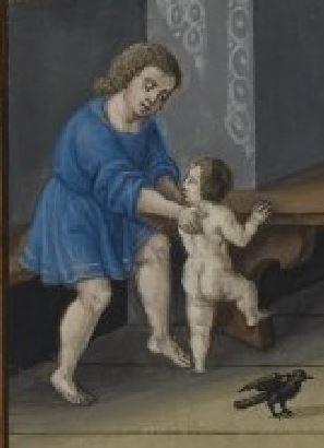 Splendor Solis Ludus puerorum troisieme enfant