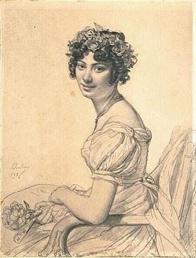 Julie DUVIDAL DE MONTFERRIER Drolling date inconnue Louvre
