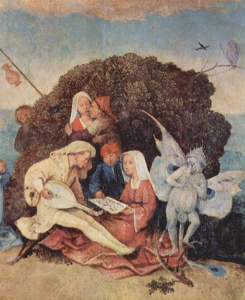 Le chariot de foin 1515 Hieronymus_Bosch Prado detail
