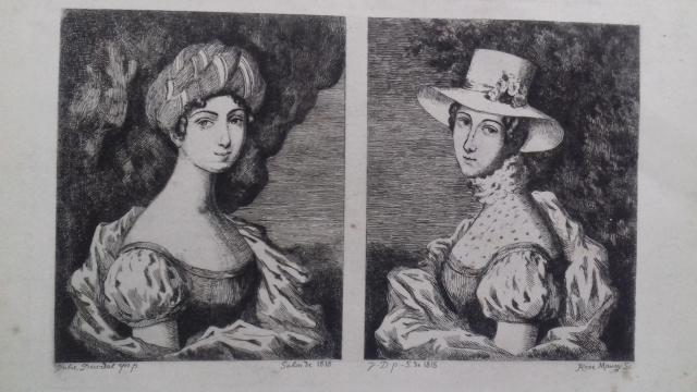 Pendants expose en 1819 Duvidal