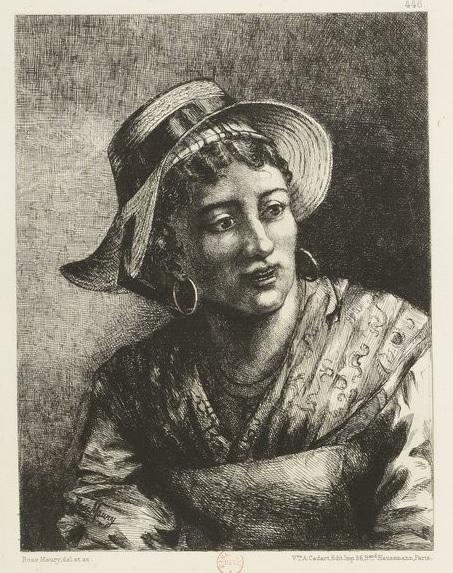 Rose Maury Toulousaine 1878
