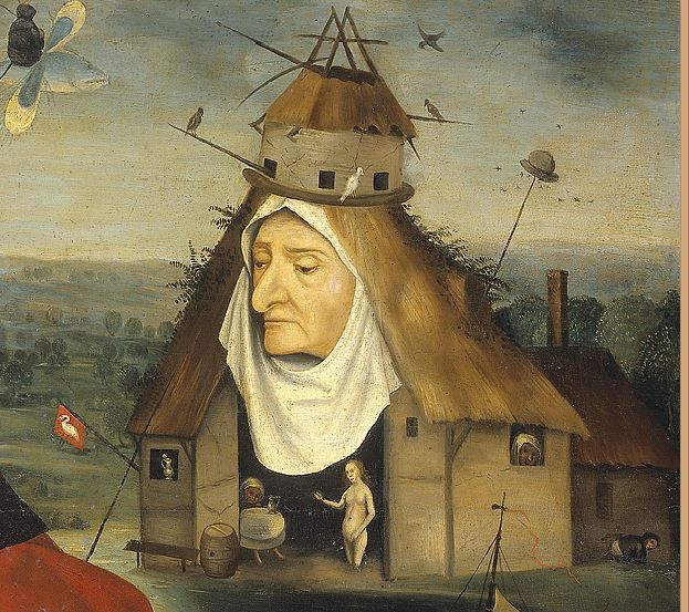 St Jerome Follower_of_Jheronimus_Bosch Musee du Nord Brabant, Hertogenbosch detail