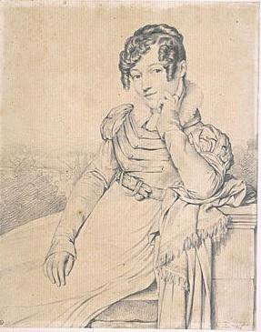 Zoe Jacqueline DUVIDAL DE MONTFERRIER Dupre 1824