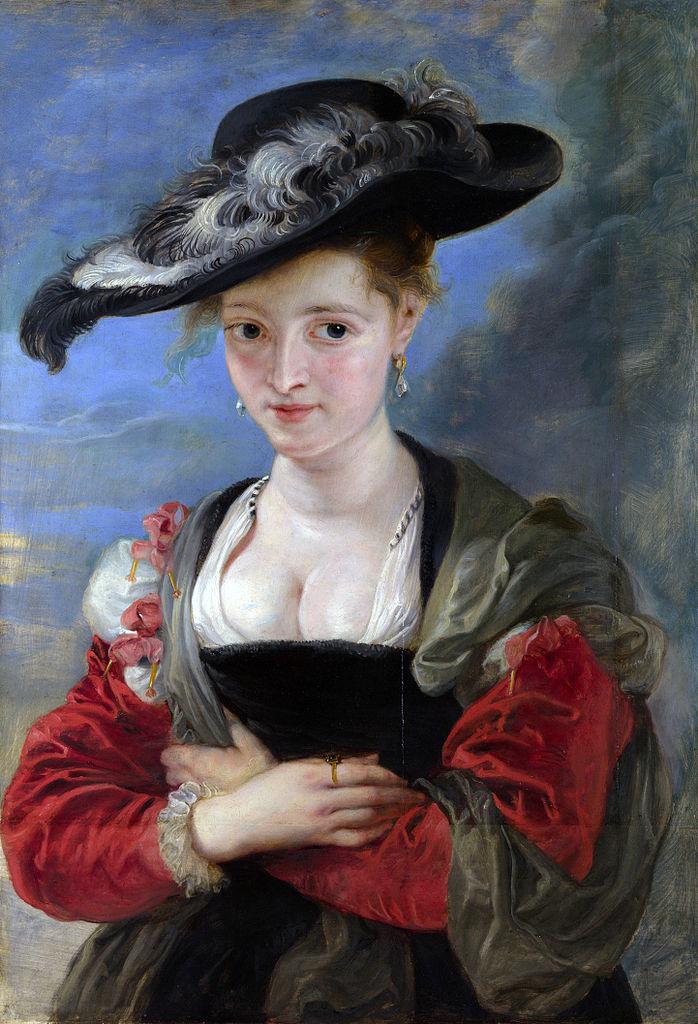 rubens-le-chapeau-de-paille-ou-suzanne-fourment-1622-25 National Gallery, Londres