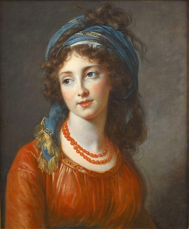 vigee-lebrun 1794 Aglae de Gramont, duchesse de Guiche by Louise Elisabeth