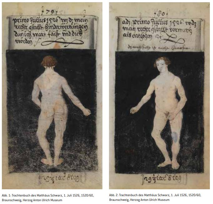 Trachtenbuch des Matthaus Schwarz, 1 juillet 1526, Braunschweig, Herzog Anton Ulrich Museum