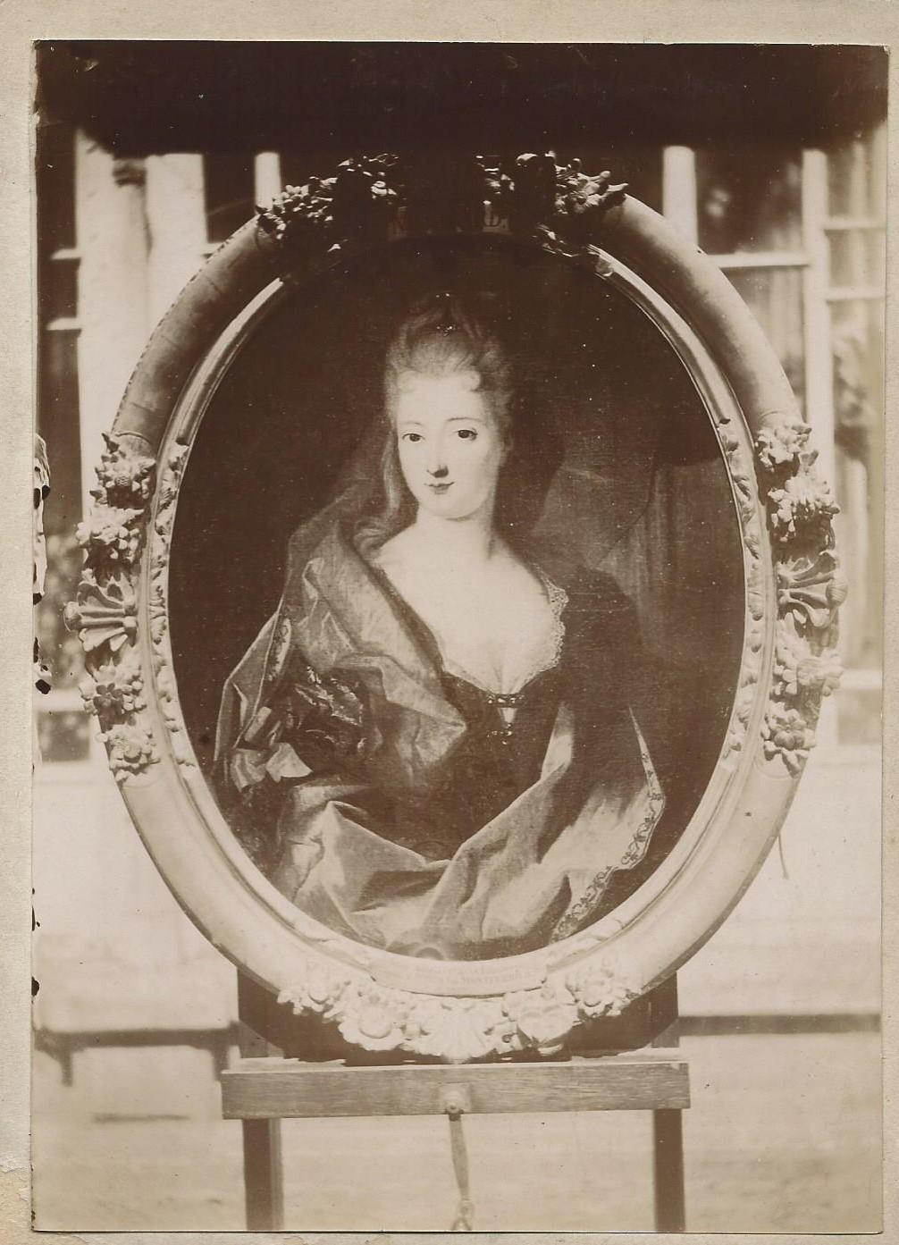 1669-1733 Jean Antoine Duvidal Epouse De la Brosse par Mignard coll Gladysz