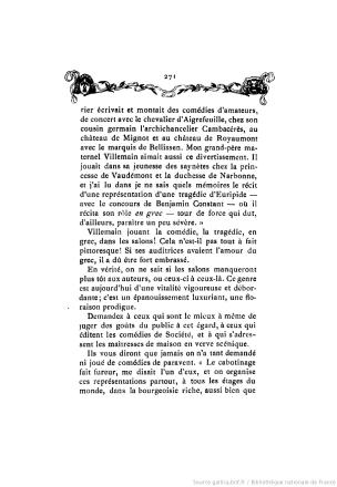 Histoire des theatres de societe Leo Claretie 1906 p 271