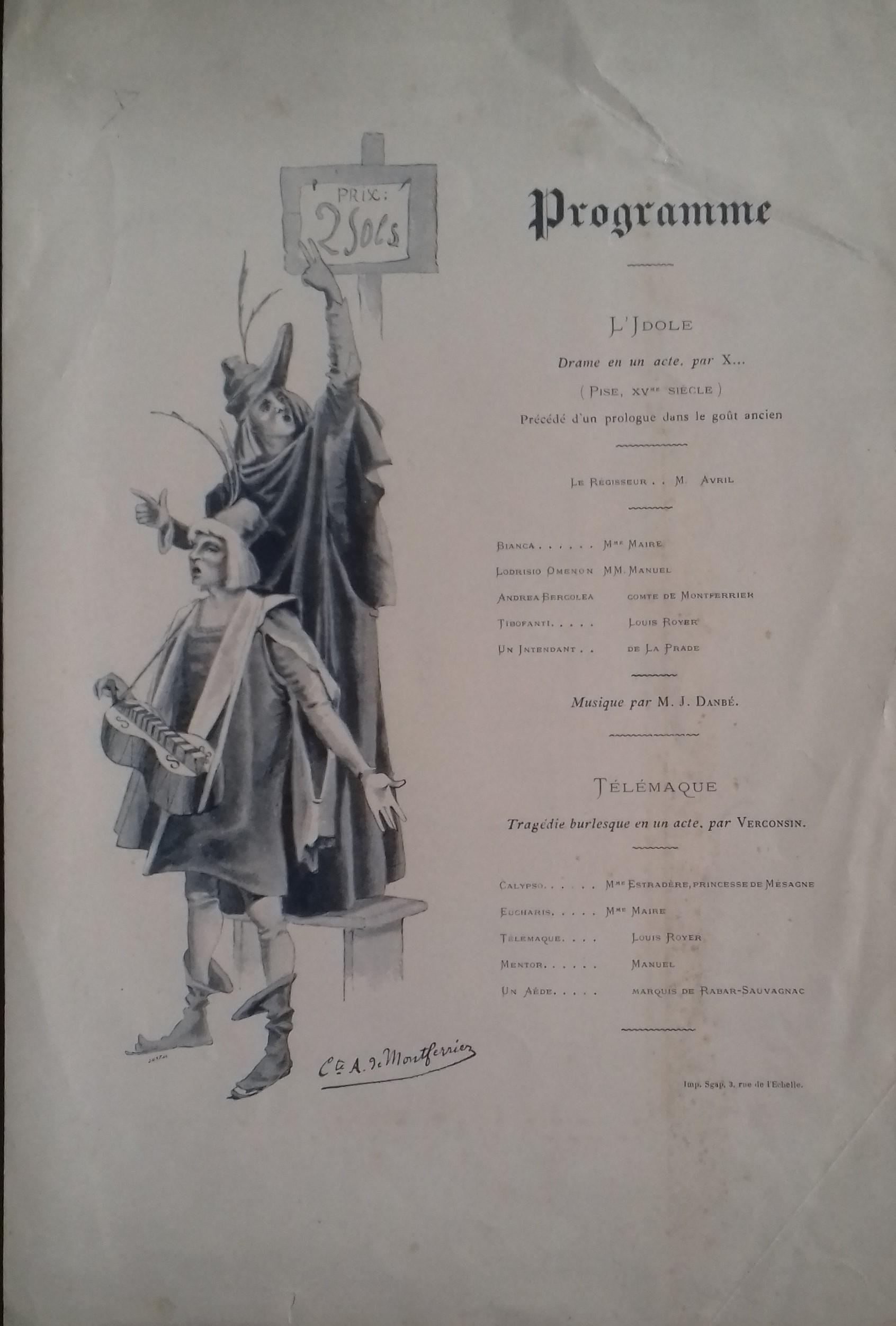 L Idole Abel de Montferrier