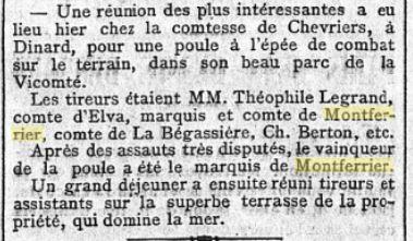 Le Figaro 15 septembre 1898