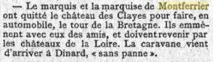 Le Figaro 7 aout 1898