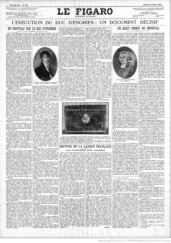 Le_Figaro_Supplement_litteraire_du 16 mars 1929