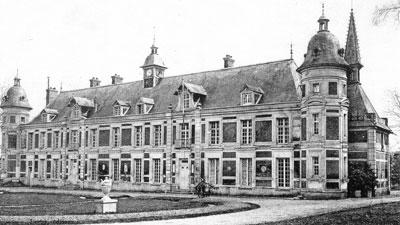 chateau des Clayes Clayes sous bois