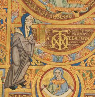 1102-25 ca Uta_Codex_Dedicace Bayerische Staatsbibliothek Clm 13601 f2 detail2