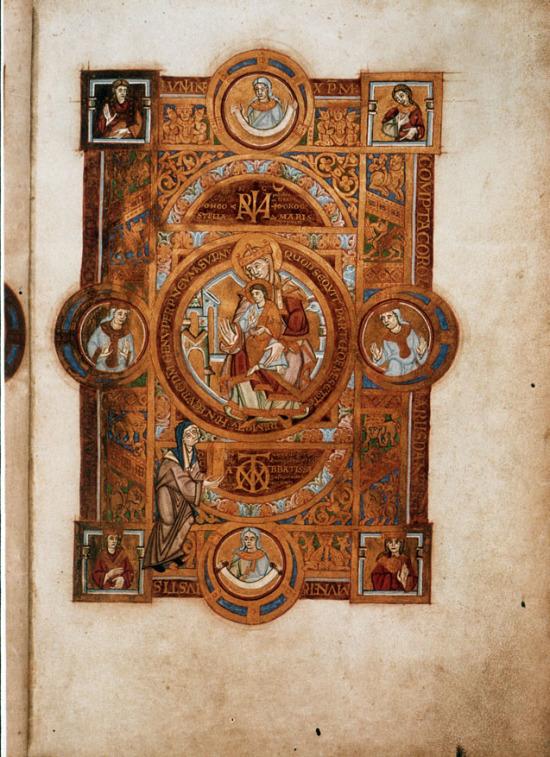 1102-25 ca Uta_Codex_Dedicace Bayerische Staatsbibliothek Clm 13601 f2