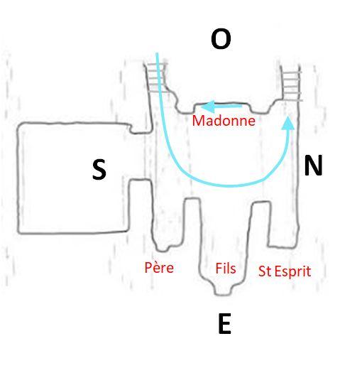 1190-1210 Ausonia Sainta Maria del Piano plan