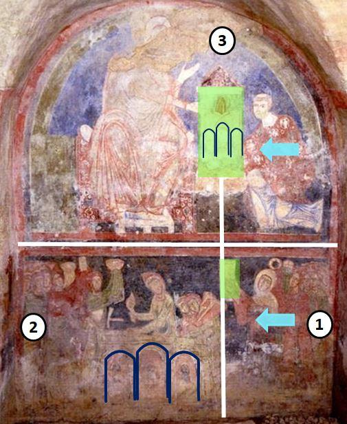 1190-1210 Ausonia Sainta Maria del Piano schema