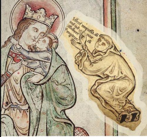 1250-59 L'artiste Matthew le Parisien extrait de EPPH