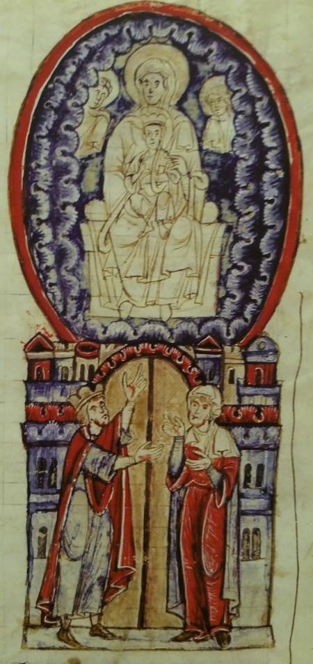 1285 Liber de temporibus et aetatibus Bibliotheque Estense Modene MS 461 fol 92