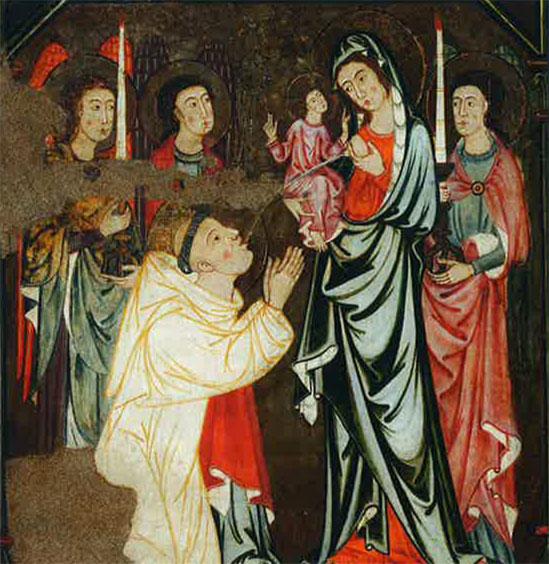 1290 Lactation de Saint Bernard Palma de Majorque