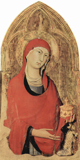 1323-24 Simone Martini Polyptyque de San Domenico Museo dell opera del duomo Orvieto detail