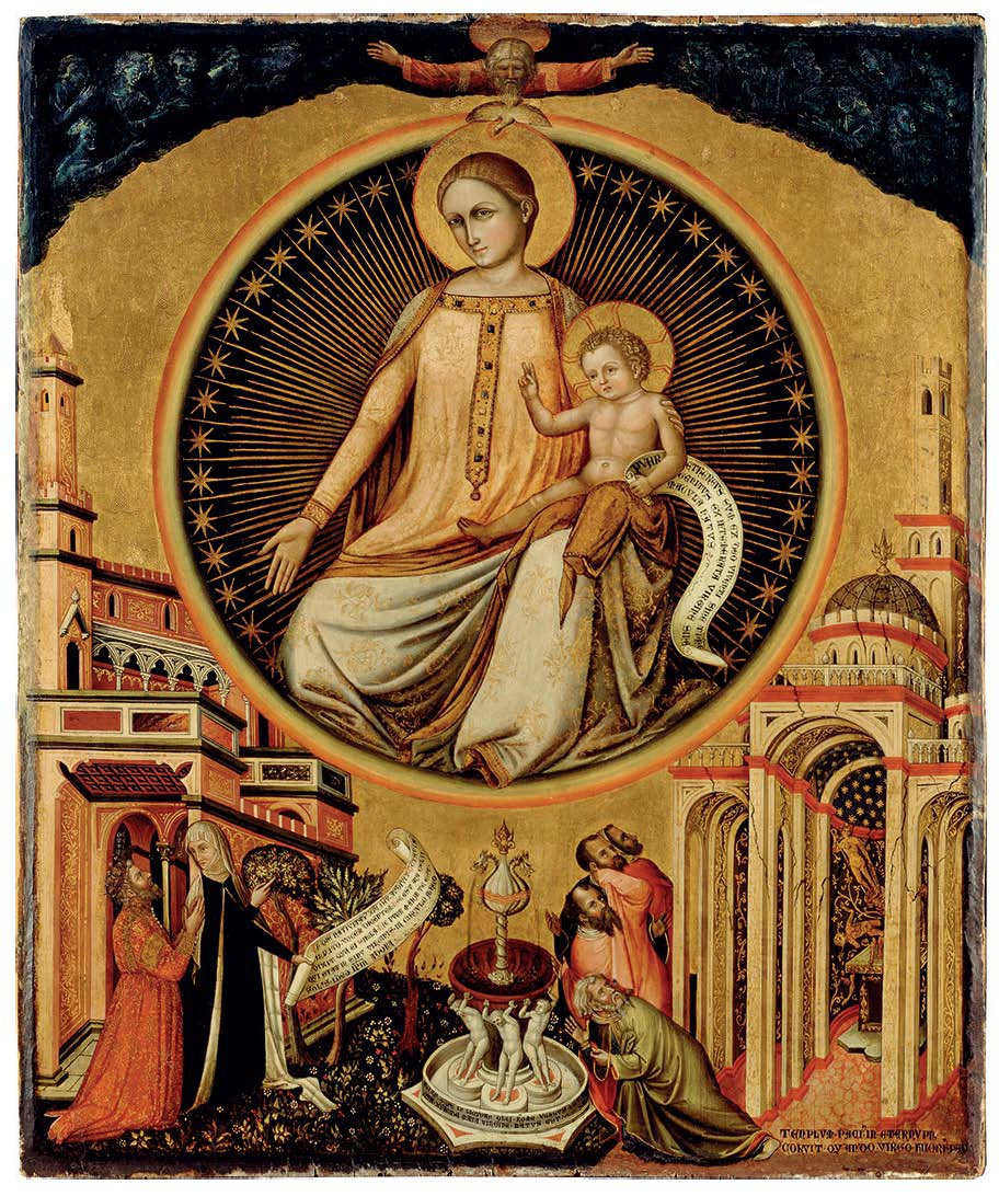 1348 Paolo de Venezia attr Legenda aurea Staatsgalerie Stuttgart