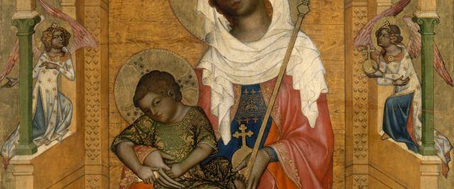 1350 Glatzer_Madonna Bohemian_Master Gemaldegalerie Berlin detail