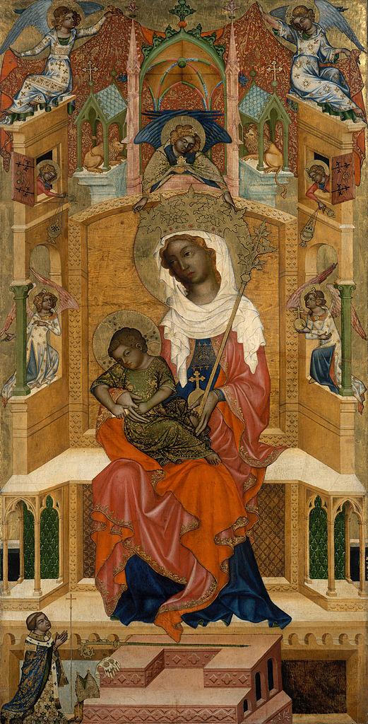 1350 Glatzer_Madonna Bohemian_Master Gemaldegalerie Berlin_
