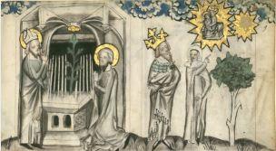 1370-80 Speculum humanae salvationis BNF Latin 511 folio 9r (Gallica)