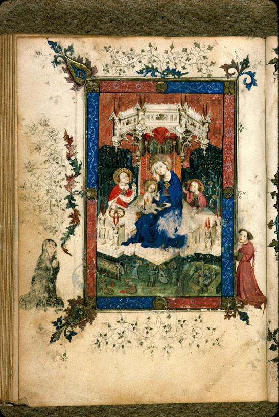 1400-1410 Heures Carpentras - BM ms. 0057 f. 055v
