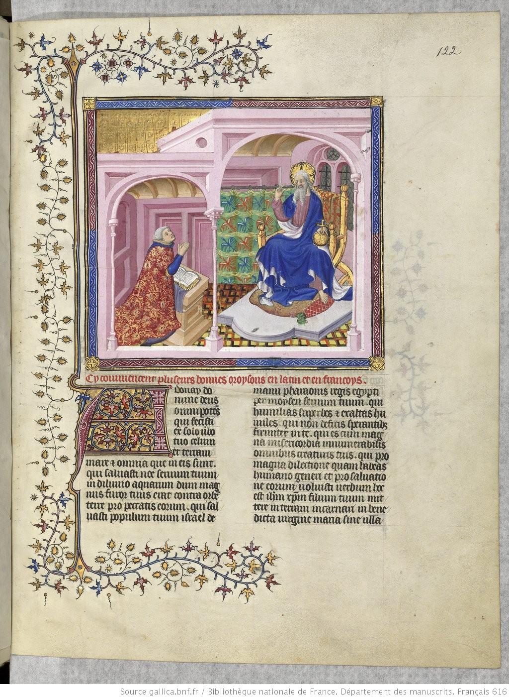 1400-20 Gaston-phebus-livre-de-la-chasse-Livre de la chasse BnF fr. 616 122r