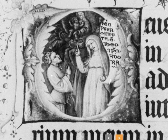 1402 avant Jacquemart de Hesdin - MS 11060-61 Bibl royale Bruxelles