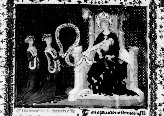 1406 Aiguillon d'amour divin BNF Fr 926 fol 2 Gallica