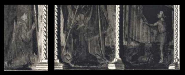 1408 Battista da Vicenza St Georges Antoine Blaise Martin Pieve di S. Giorgio, San Giorgio, Velo d'Astico detail